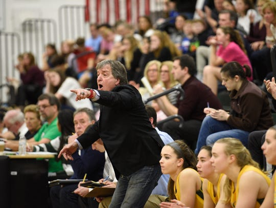 Pascack Valley girls basketball coach Jeff Jasper on