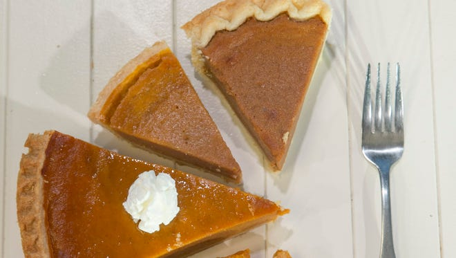 Store bought Pumpkin pies from Bashas', Albertsons, Costco, Fry's and Sprouts.