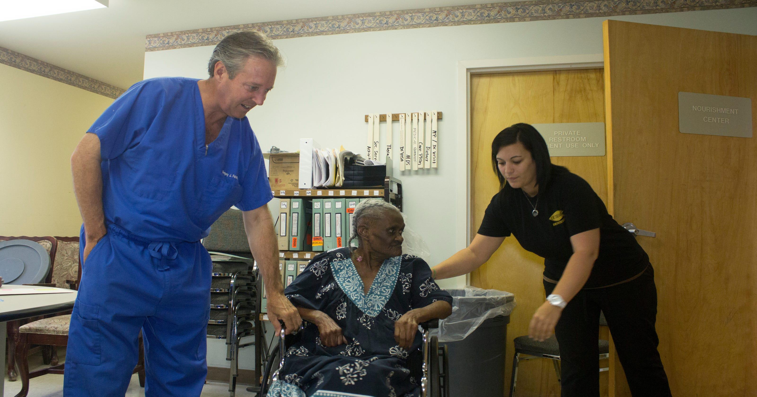 Acadiana people dentist hits the road to treat elderly
