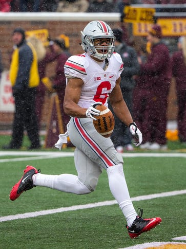 """It'd be great,"" Ohio State wide receiver Evan Spencer"