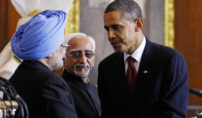 President Obama and India Prime Minister Manmohan Singh in 2010.