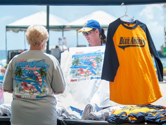 """TIP: Check out the merchandise and displays at """"Show"""