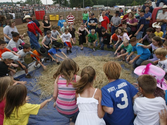 The 'Gold Rush' at the 25th Annual Downtown Kiwanis