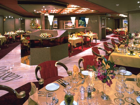 The reservations-only Pinnacle Grill, renowned for