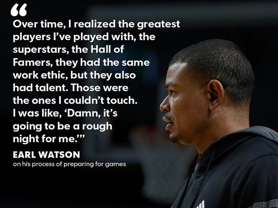 Suns coach Earl Watson said he had to work harder than more talented players to stick in the NBA for 13 years; he's trying to impart those same lessons on the Suns.