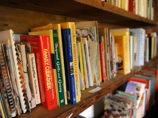 Anne Komorowski collection of roughly 5,000 cookbooks.