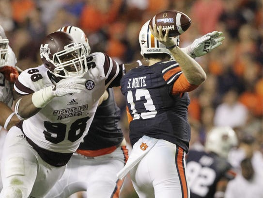 John Reed/USA TODAY Sports Mississippi State junior