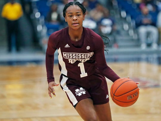 Mississippi State guard Myah Taylor