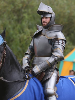 Galavant (Joshua Sasse) enters a jousting tournament against a boastful rival, Sir Jean Hamm (guest star John Stamos), to test his return to heroic form