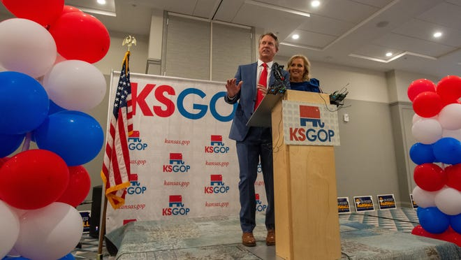 U.S. Sen. Roger Marshall, R-Kan., was one of six senators to object to Arizona's Electoral College votes, despite rioting among pro-Trump demonstrators in the U.S. Capitol on Wednesday. [November 2020 file photo/The Capital-Journal]