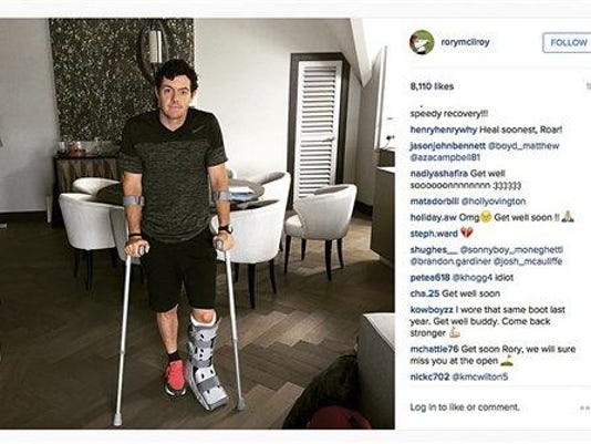 Golf McIlroy Out_Will