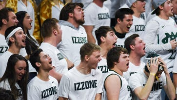 Izzone students opt for teal in support of sexual assault survivors