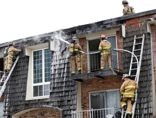 LAF Fire at West Lafayette apartment complex
