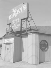 Bucky's was the place to go to celebrate an anniversary,