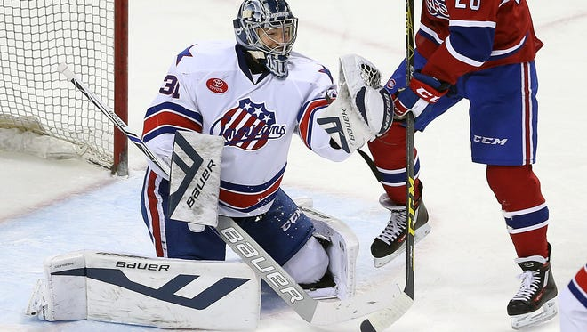 Nathan Lieuwen spent the past four seasons with the Rochester Americans and Buffalo Sabres, but he is now a free agent.