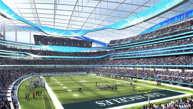 The new stadium being built in Inglewood can be counted on to host NFL games as well as other sporting and cultural events.