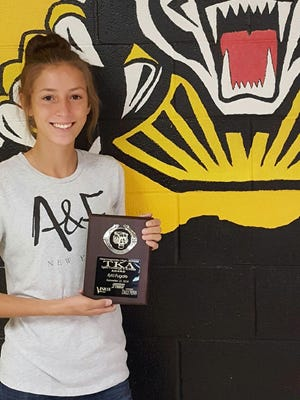 AHS junior Kyla Fugate is a shining example of an extraordinary student and person. Her outstanding GPA, maintained while taking several AP and honors classes is only proof of her academic success. She also volunteers for Big Brothers Big Sisters.