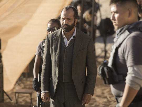 Jeffrey Wright plays Bernard Lowe in HBO's 'Westworld.'