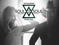 Insiders receive advance ticket opportunity to Tim McGraw and Faith Hill's 2017 Soul2Soul tour.
