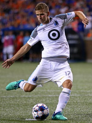 Minnesota United midfielder Collin Martin announced publicly that he is gay.