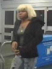 One of the female suspects from Wednesday morning's grand theft at the Cocoa Wal-Mart