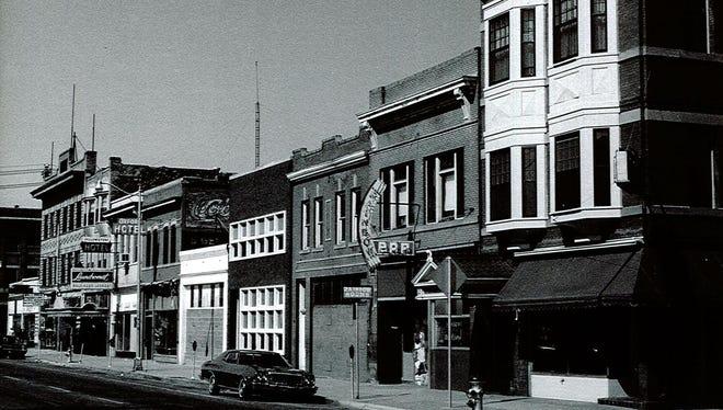 The Rex Bar was built around 1909.