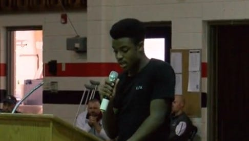 North Vermilion High School students spoke in remembrance of two students killed in a wreck over the weekend at a vigil Tuesday.