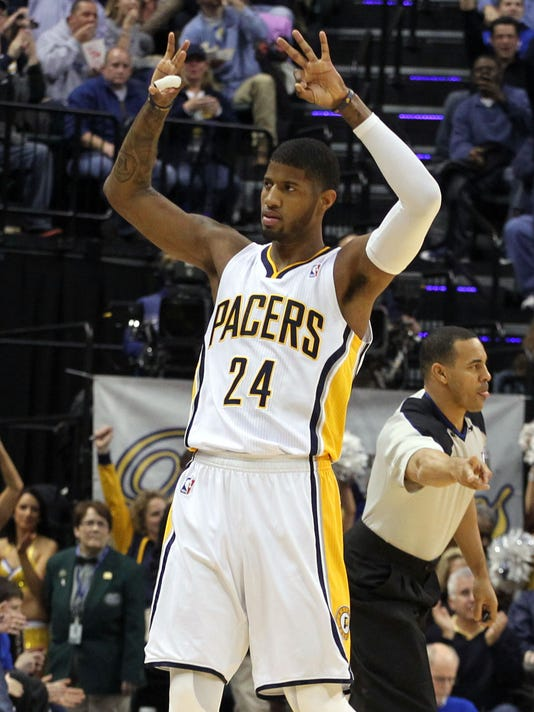 Paul George s monster dunk highlights Pacers  win over Clippers a1bc51d63