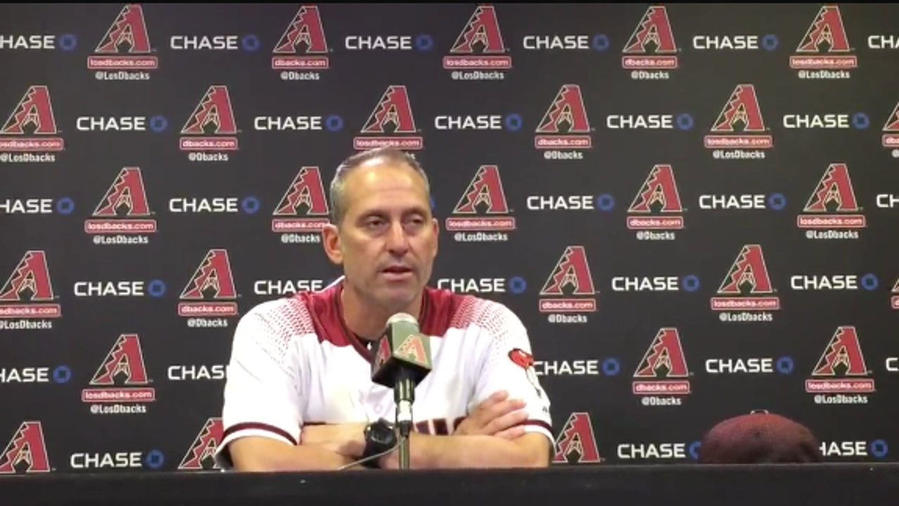 Lovullo raves about Greinke's outing vs. Braves
