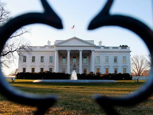 AP WHITE HOUSE PROTESTS A USA DC