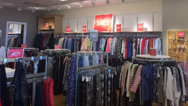 Sales galore at the new Chico's Outlet at Waterloo Premium Outlet.