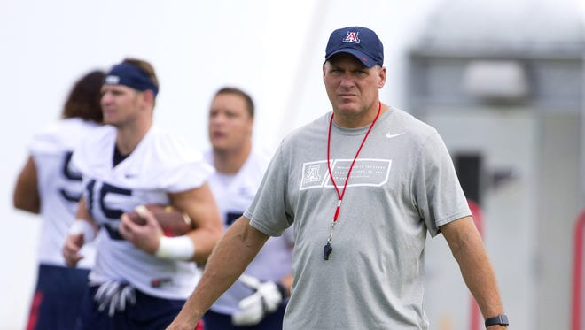 How will Rich Rodriguez's Arizona Wildcats fare in the upcoming season?