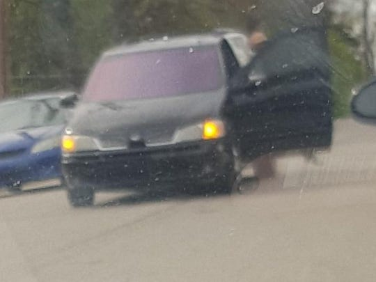 Vehicle suspected of being involved in Wednesday's shooting in Avondale.