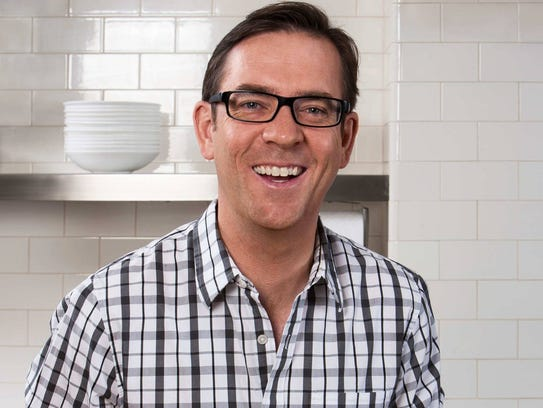 "Ted Allen, host of Food Network's ""Chopped."""