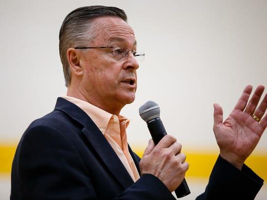 Rep. Rod Blum, who represents Iowa's 1st congressional