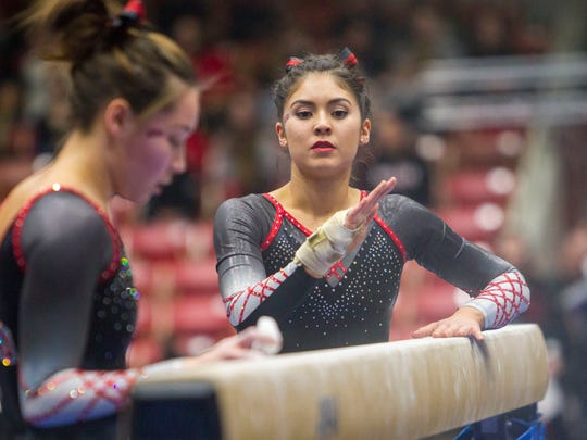 College Gymnastics: North Carolina State at Southern