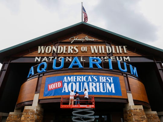 "Wonders of Wildlife was named was named the nations ""Best Aquarium"" by USA TODAY's 10Best.com travel advice website on Friday, May 4, 2018."