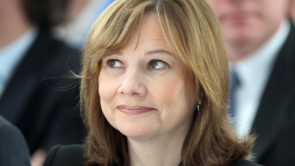 Gm Ceo Mary Barra S Pay Package Worth 14 4m This Year
