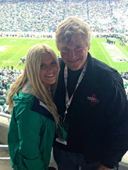 """Super agent Leigh Steinberg lives in Newport Beach, Calif. Daughter Katie chose to go to Michigan State. """"She loves it back there,"""" he said."""
