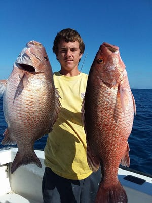 Seas may get a little bumpy the next few days, but spring snapper fishing is solid offshore and grouper season opens May 1.