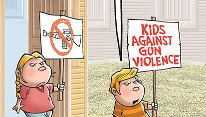 Kids have stopped waiting for adults to act like adults and are confronting gun violence.