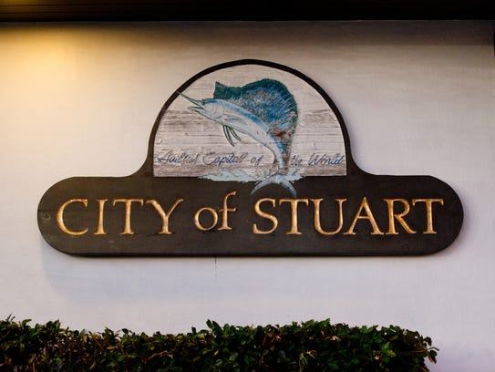 The City of Stuart City Hall government building is