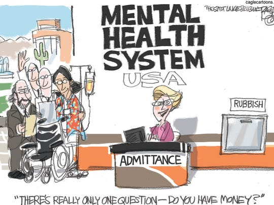 Mental services for those who can pay