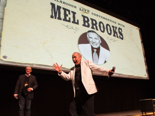 "Playwright, comedian and musician Mel Brooks will be at a showing of 1974 film, ""Young Frankenstein,"" on May 21 at NJPAC in Newark, and then share stories with the audience."