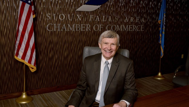Leadership Sioux Falls program is named for Evan Nolte, former president and CEO of the Sioux Falls Area Chamber of Commerce, who retired last year.