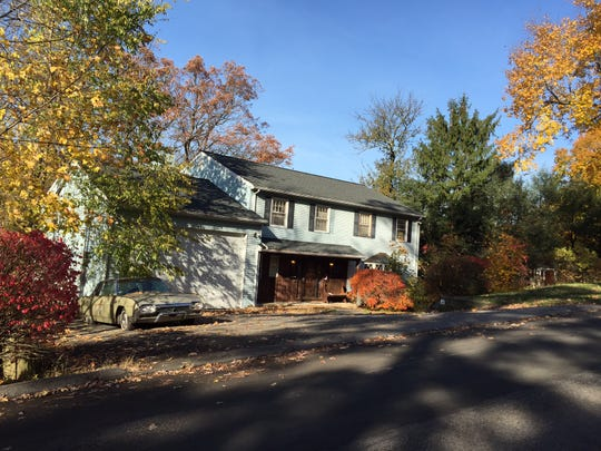 Linda Misek-Falkoff's Pleasantville home, where she was found murdered.