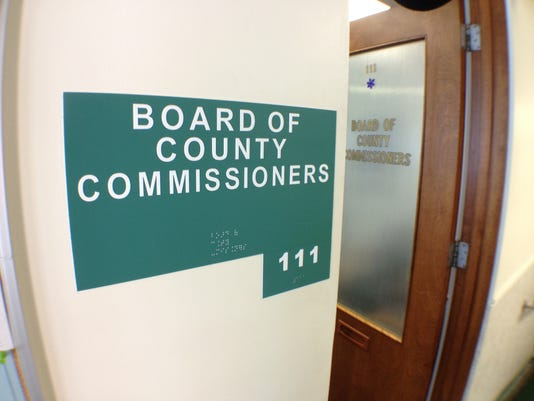 1 county commission icon