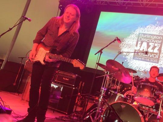 Blues guitarist Matt Schofield opens for Robert Randolph at Waterfront Park on Thursday.