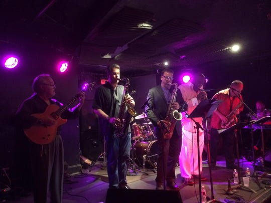 The Sneakers Jazz Band performed two reunion shows Sunday at Club Metronome.
