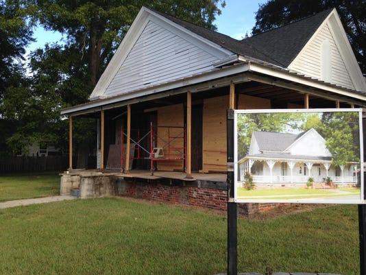 Al Booth house
